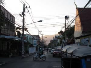 Abendstimmung ChiangMai