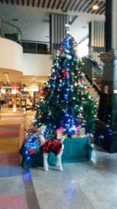 Leuchtender Blinkender Weihnachtsbaum