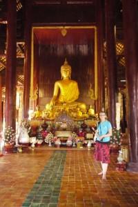 Mili im Wat Phan Tao