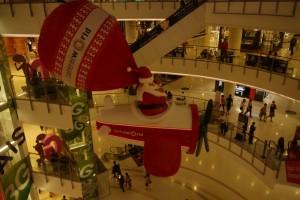 Weihnachtsdeko im Shoppingcenter 2