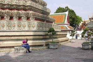 Zeichnen im Wat Pho