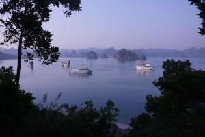 Ausblick auf den Ha Long Bay 2