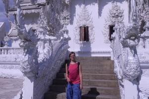 Chiang Rai - Milli am weisen Tempel