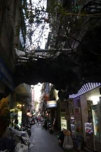 Gasse im Old Quarter