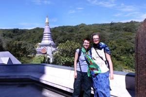 Ina und Mili mit der Kings Pagoda