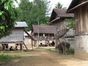 Khmu Dorf