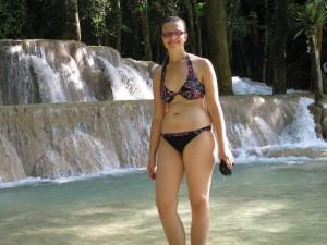 Mili am Tad Sae Wasserfall