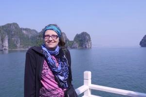 Mili vor Ha Long Bay