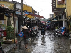 Regen in Hoi An 2