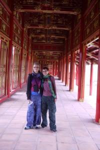 Säulengang in Hue