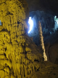 Tropfsteine in der Cave of Surprise