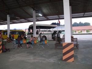 Unser Bus nach Luang Prabang