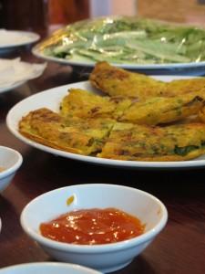 Vietnamesische Pfannkuchen 2
