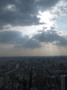 Ausblick von Saigon-Skytower