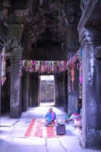 Buddhistisches Leben im Banteay Kdei
