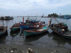 Schiffe in DuongDong