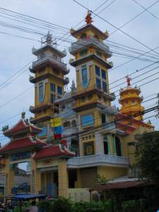 Tempel in DuongDong