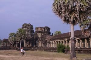 West-Tor von Ankor Wat