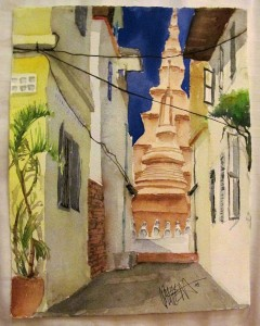 gemalt - Im Wat Ounalom