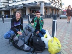 All unser Gepäck