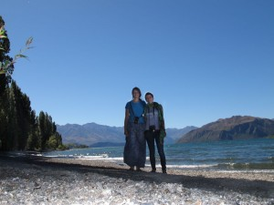 Mili und Ina in Wanaka