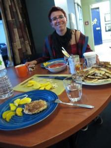 Pancakes  - Kulinarisches aus der Hostelküche