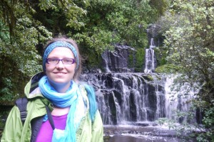 Purakaunui Wasserfall