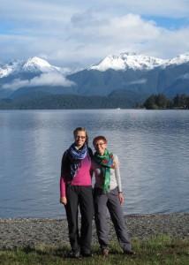 Wanderstart am Lake Te Anau