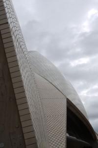 Detail auf dem Opera House
