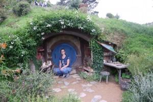 Ein Töpferer Hobbithaus