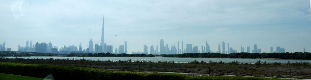 Panorama von Dubai
