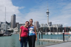 Segelhafen von Auckland