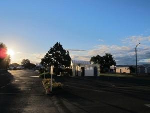 Sonnenuntergang in Wairoa