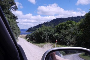 Volle Fahrt vorraus auf der Gravel Road