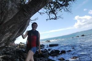 Weg zum New Chums Beach