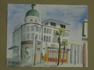 gemalt - Dome in Napier